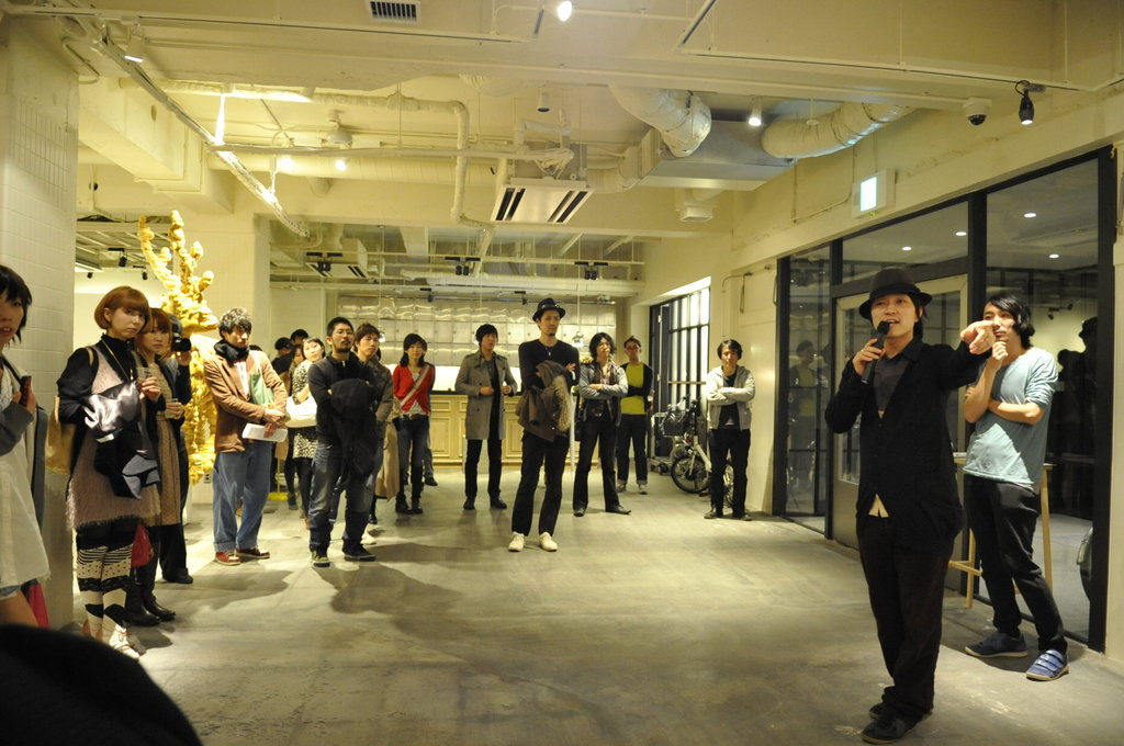 "Gallery 9.5 ""arnk. [arrival unknown] solo exhibition of shun kawakami opening reception"""